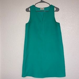 Everly Turqoise/Teal Shift Dress